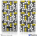 Zune HD Skin - Locknodes 04 Yellow