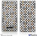 Zune HD Skin - Locknodes 05 Peach