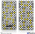 Zune HD Skin - Locknodes 05 Yellow
